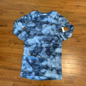 New OLD NAVY Sweatshirt Dress Tie Dye XXL 16 Plus